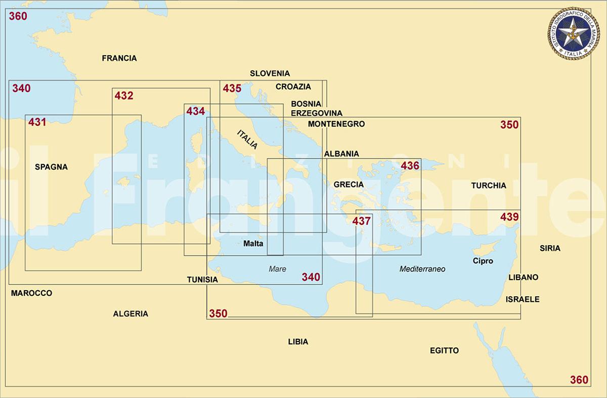 Carte Nautiche da Diporto Idrografico Marina Militare - IMM